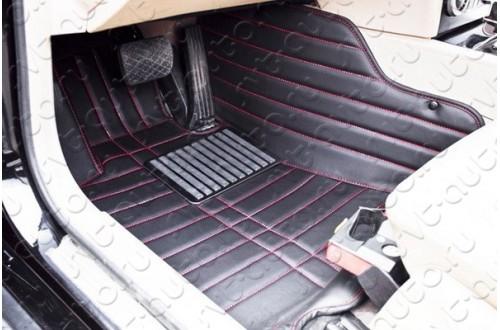 Кожаные коврики в салон Lexus GX460