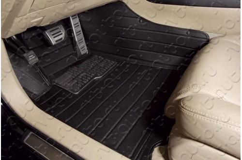 Кожаные коврики в салон автомобиля Хендай айикс35