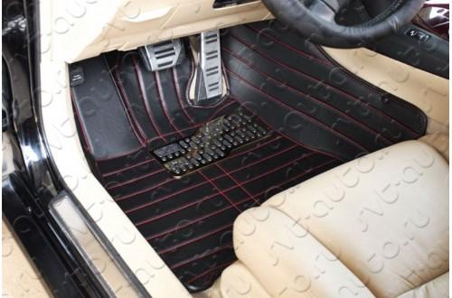 Кожаные коврики Toyota Highlander 2
