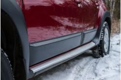 Молдинги на двери Renault Duster