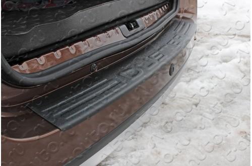 Защитная накладка на задний бампер Renault Duster