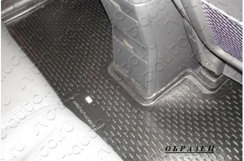 Коврики в салон 3-й ряд Nissan Pathfinder 4