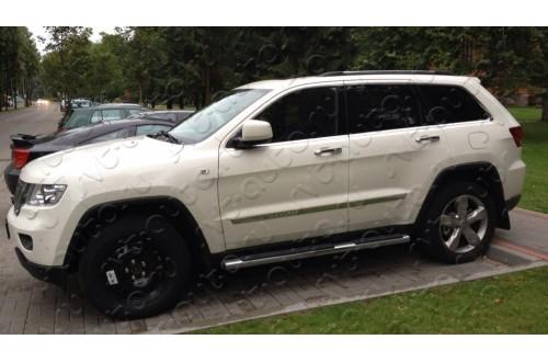Пороги Jeep Grand Cherokee WK2