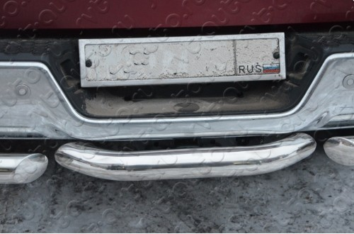 Защита заднего бампера Dodge Ram 1500