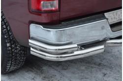 Уголки заднего бампера Dodge Ram 1500