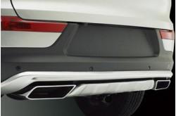 Накладка заднего бампера Kia Sportage 3