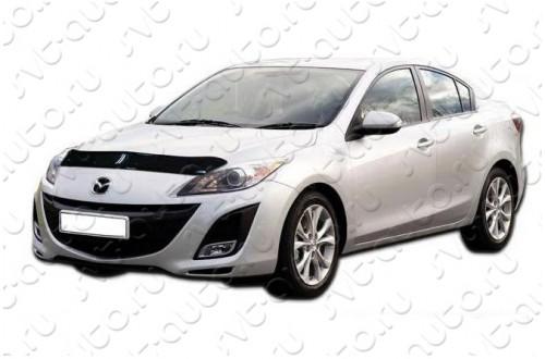 Дефлектор капота Mazda 3 BL седан хэтчбек