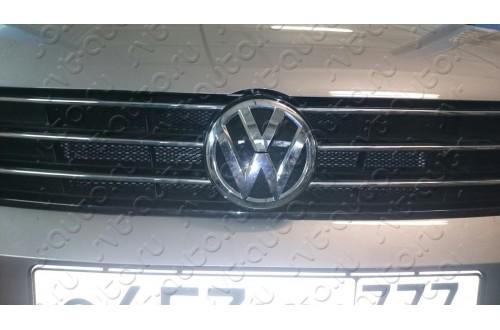 Сетка в бампер Volkswagen Polo с установкой