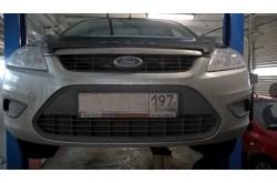 Сетка в бампер Ford Focus с установкой