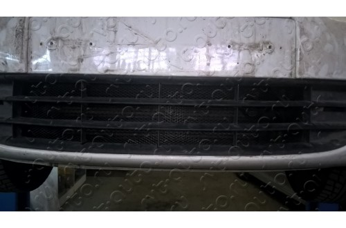 Сетка в бампер Skoda Octavia A7 с установкой