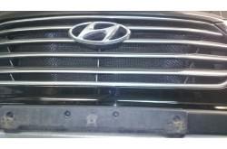 Сетка в бампер Hyundai Grand Santa Fe с установкой