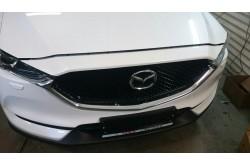 Сетка в бампер Mazda CX-5 с установкой