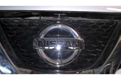 Сетка в бампер Nissan Qashqai с установкой