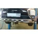 Сетка в бампер Mitsubishi Outlander с установкой