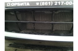 Сетка в бампер Nissan Almera с установкой