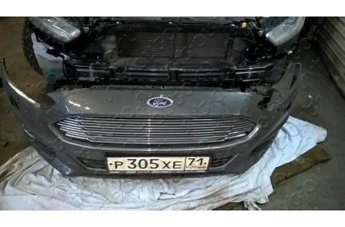 Сетка в бампер Ford Mondeo 4 с установкой
