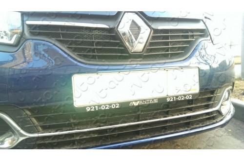 Сетка в бампер Renault Logan с установкой