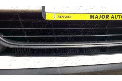 Сетка в бампер Renault Megane с установкой