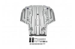 Алюминиевая защита кпп Audi A4 B9