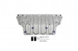 Алюминиевая защита картера Audi A4 B9