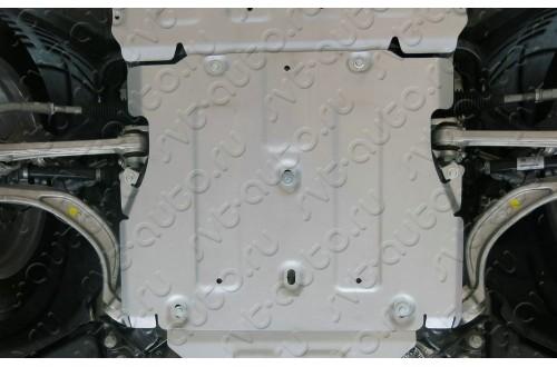 Алюминиевая защита кпп Audi Q5 2