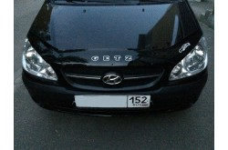 Дефлектор капота Hyundai Getz рестайлинг