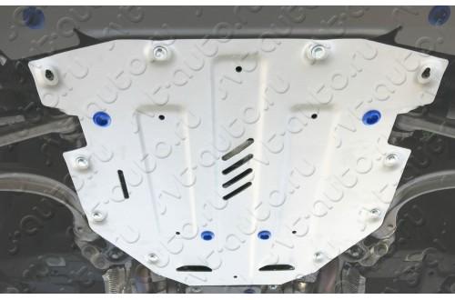 Алюминиевая защита кпп Audi Q7