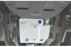 Алюминиевая защита раздатки Audi Q7