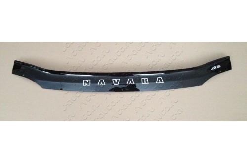Дефлектор капота Nissan Navara D22