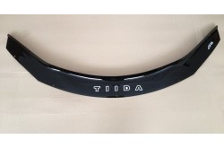 Дефлектор капота Nissan Tiida C13