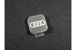 Заглушка фаркопа с логотипом Audi