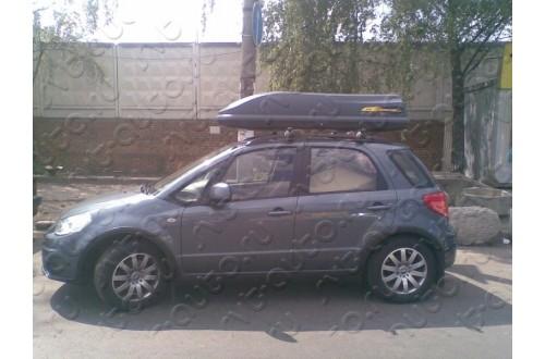 Автомобильный бокс Hakr 390 silver