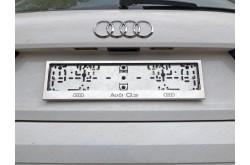 Рамка номерного знака Audi Q3