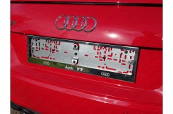 Рамка номерного знака Audi TT