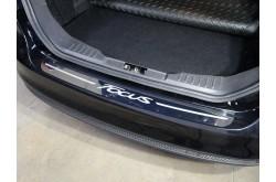 Накладка на задний бампер Ford Focus 3