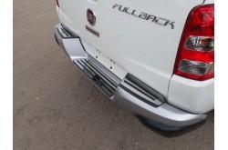 Накладка на задний бампер Fiat Fullback