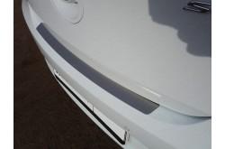 Накладка на задний бампер Hyundai Solaris хэтчбек