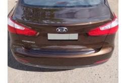 Накладка на задний бампер Kia Cerato 3