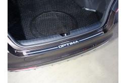 Накладка на задний бампер Kia Optima