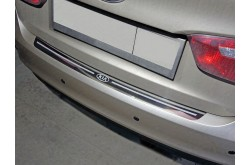 Накладка на задний бампер Kia Rio 3
