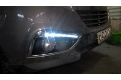 Ходовые огни Hyundai ix35 с установкой