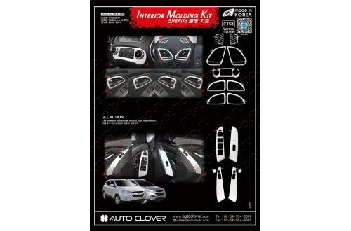 Хром-пакет в салон Hyundai ix35