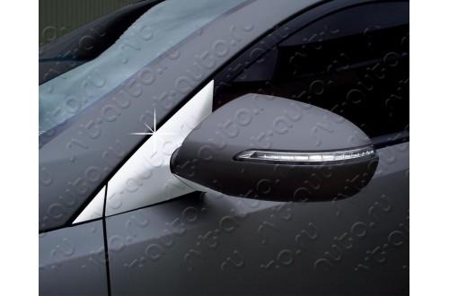 Накладки держателей зеркал Kia Sportage 3