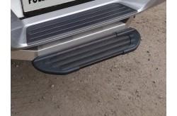 Подножка под фаркоп алюминиевая