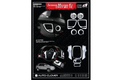 Хром-пакет в салон Kia Sportage 2
