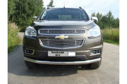 Решетка радиатора Chevrolet Trailblaizer 2 нижняя