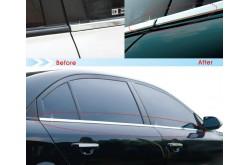 Хром-молдинги на двери Kia Sportage 2