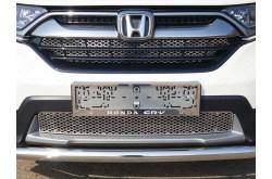 Решетка радиатора Honda CRV 5 верхняя