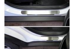 Накладки на пороги Hyundai Creta