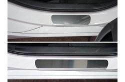 Накладки на пороги Hyundai i40